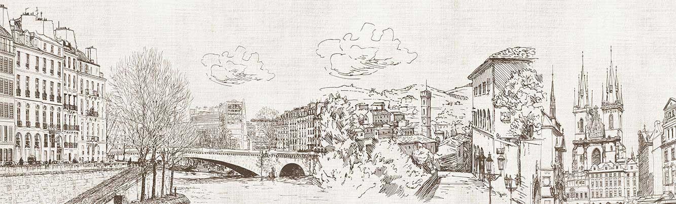 рисунках в карандашом города старые